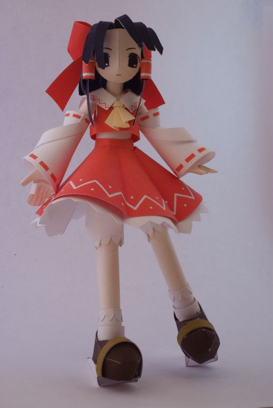 Reimu, made by my suite-mate and a star of the Touhou Project games.