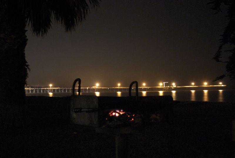 Goleta Beach barbeque.