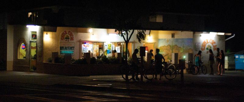 A College Night at Super Cucas in Isla Vista,