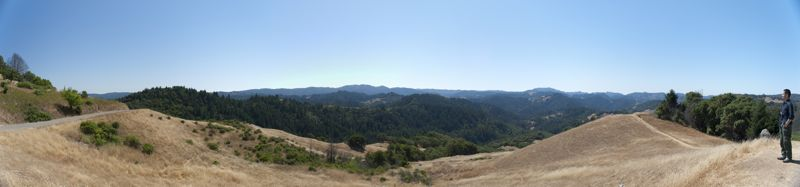 Sonoma County back country.
