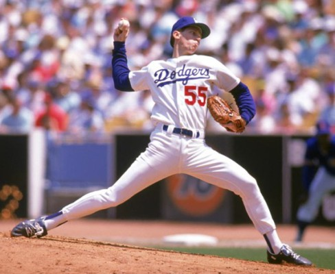 Orel hershiser Pitching