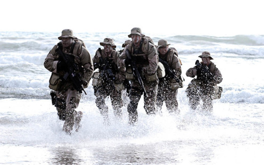 A_Seal_Team_is_coming_out_of_water