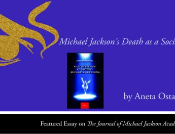 Michael Jackson's Death as a Social Event by Aneta Ostaszewska