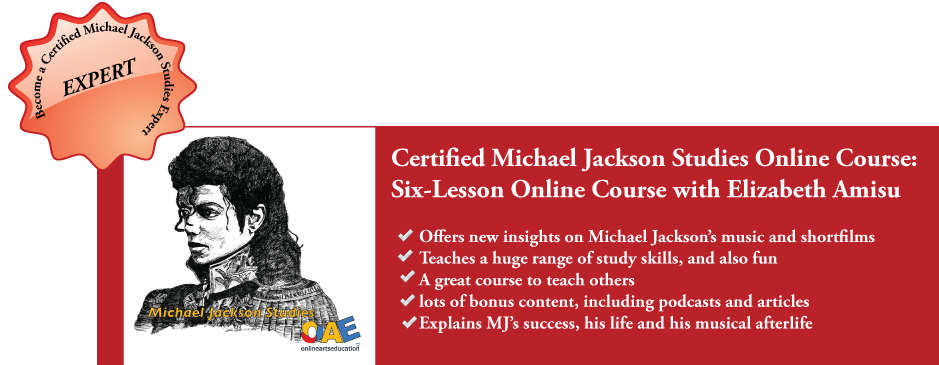 Michael Jackson Studies Online Course Advert Journal of Michael Jackson Academic Studies