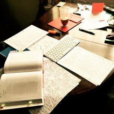 © E. Amisu - Writing Process