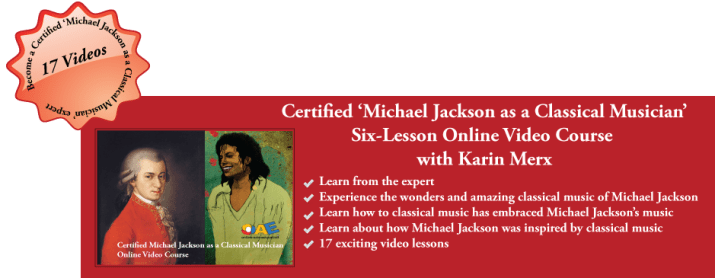 Michael Jackson as a Classical Musician Online Video Course