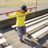 How Stadium Stairs Help Me