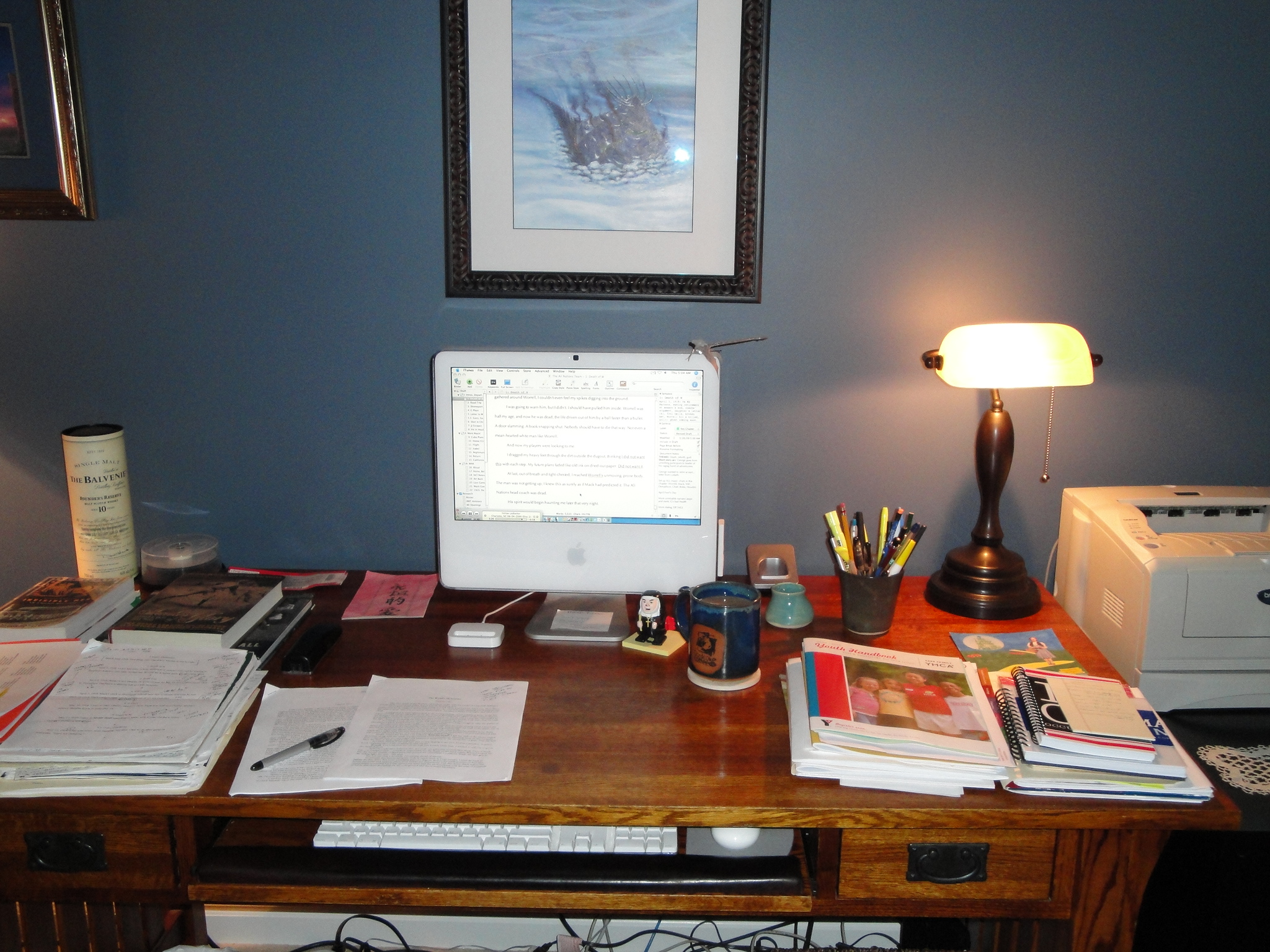 The Writing Area, March 26, 2009