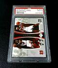 Michael Jordan Lebron James 2005 UD Bonus Pack #LJMJ4 PSA Mint 9