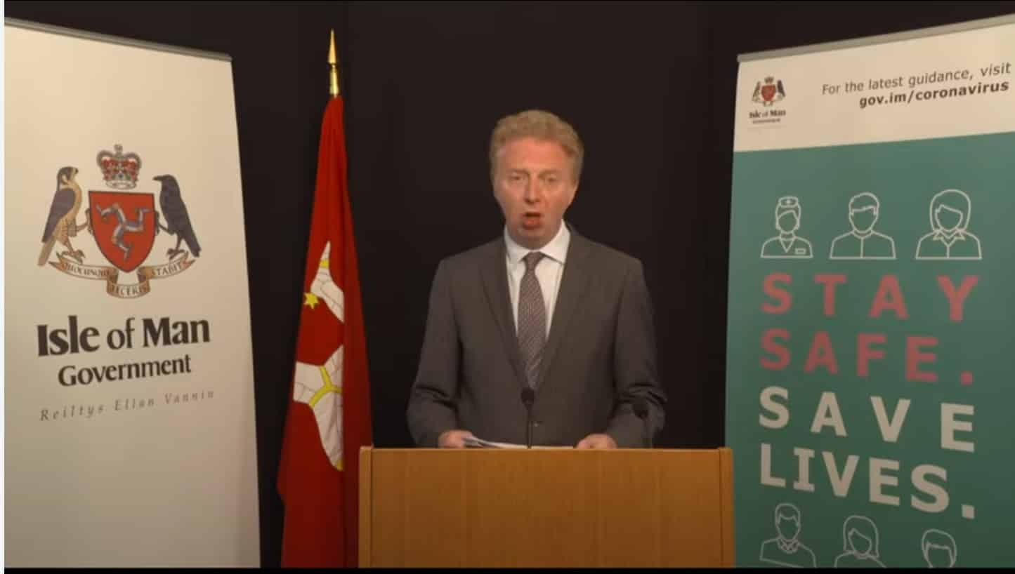Isle of Man Government Press Conference, 25 May 2020 - Michael Josem