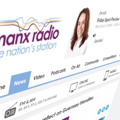 Manx Radio: reflect on guernsey friendlies