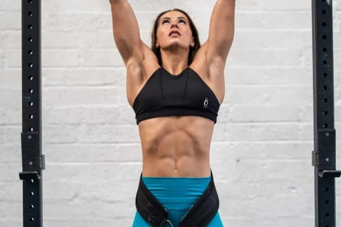 Aimee Cringle looks to become the UK's 'fittest' person in the CrossFit world. Photo: Pete Williams