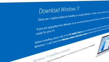 Windows 11 Download Page