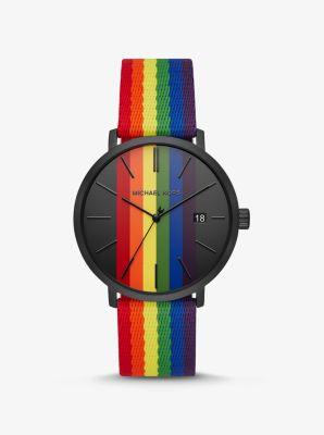Blake Rainbow And Black Tone Watch Michael Kors