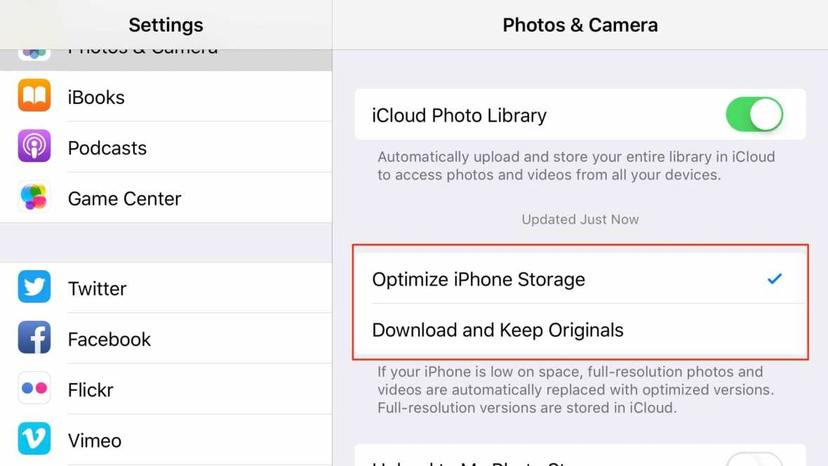 iCloud Photo Library deleting photos