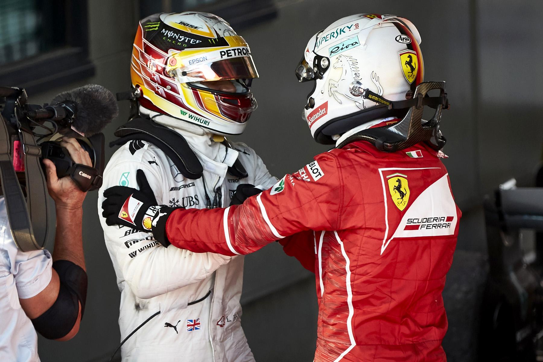 Ferrari win promises titanic title duel with Mercedes
