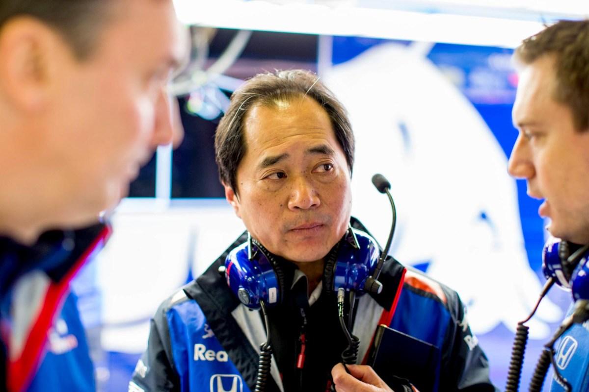 Honda F1 boss Toyoharu Tanabe. during 2018 winter testing.