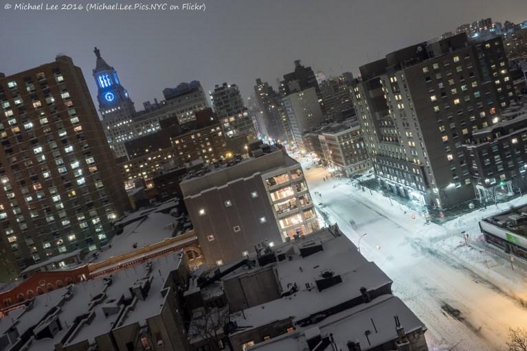 Empty Third Avenue
