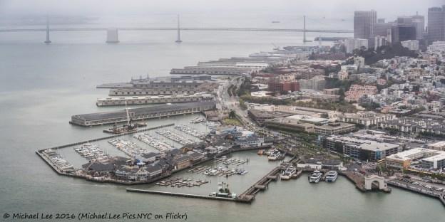 Pier 39 and Embarcadero