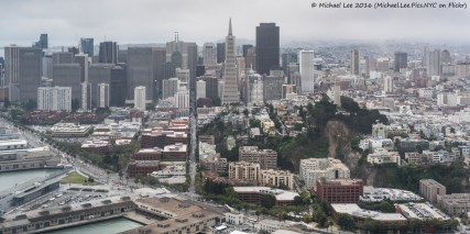 Telegraph Hill and Financial District