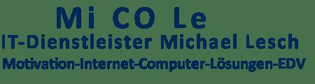 IT-Dienstleister Michael Lesch Logo