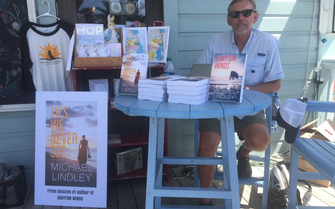 Thank you to Sundog Books in Seaside, Florida and all the great book fans we met at yesterday's book signing for LIES WE NEVER SEE.