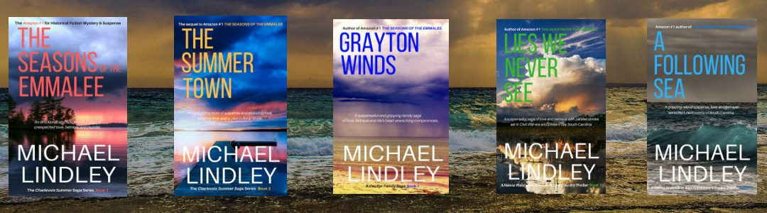 A FOLLOWING SEA by Michael Lindley debuts January 11; sequel to Amazon Top 100 for Historical Fiction, Mystery and Suspense, LIES WE NEVER SEE.