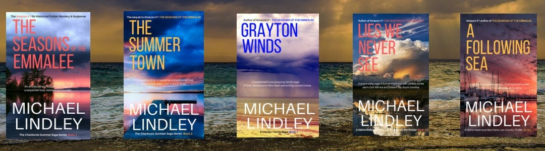 Michael Lindley Novels announces A FOLLOWING SEA Special Launch Pricing Today on Amazon for just $.99!