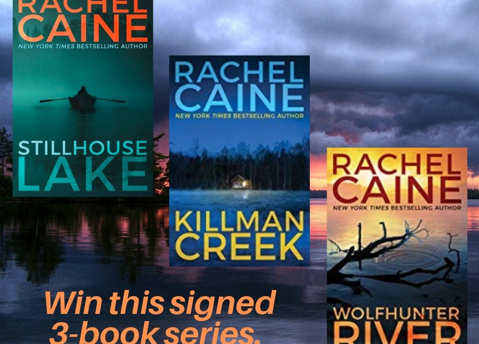 "Let me introduce you to Rachel Caine and a special giveaway offer of her latest books in the ""Stillhouse Lakes"" series."
