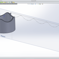 Modelling Techniques (& thought process) with Features I Don't Use! #SOLIDWORKS