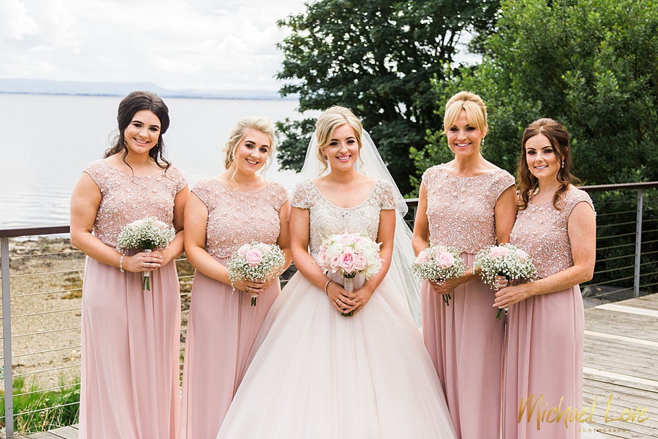 Redcastle Hotel Summer Wedding, Donegal - Michael Love Photography