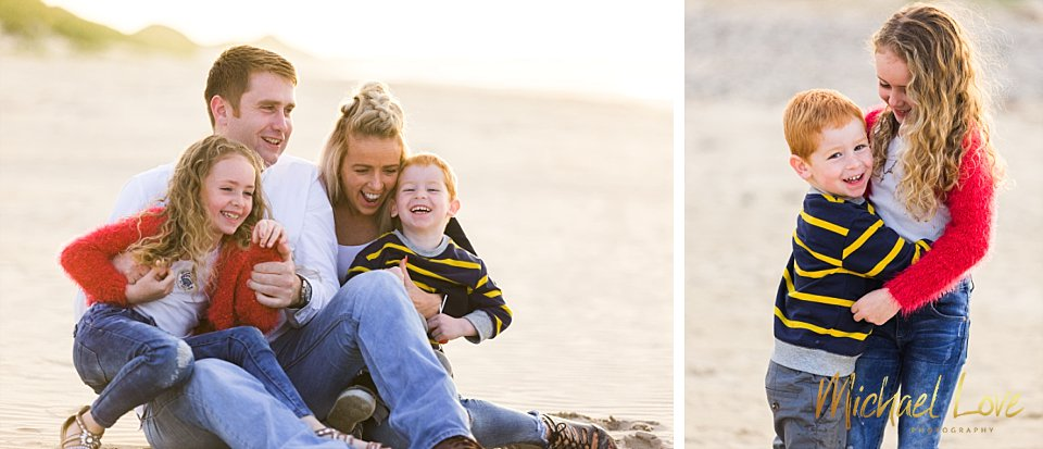 Beach Family Photos, Donegal