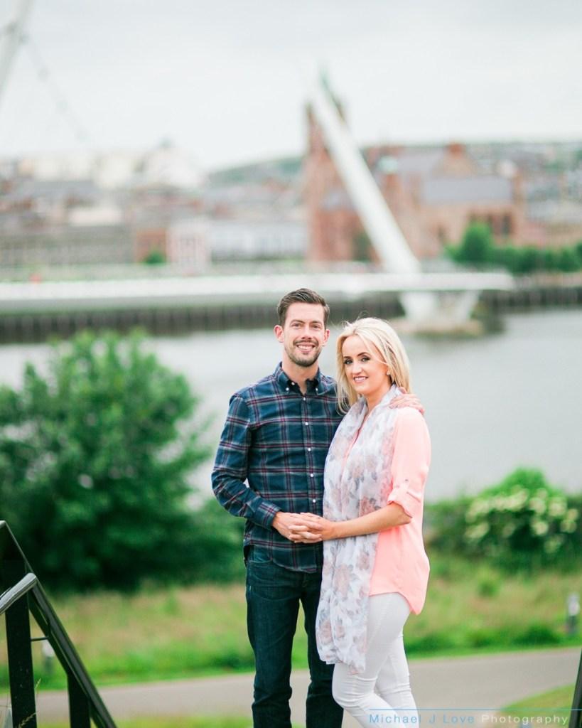 Ebrington Engagement Photos