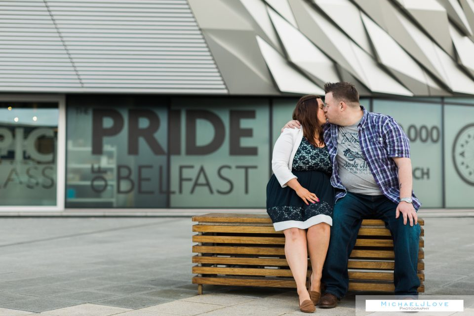 Titanic Engagement Photos, Belfast - Catherine & Jonathan