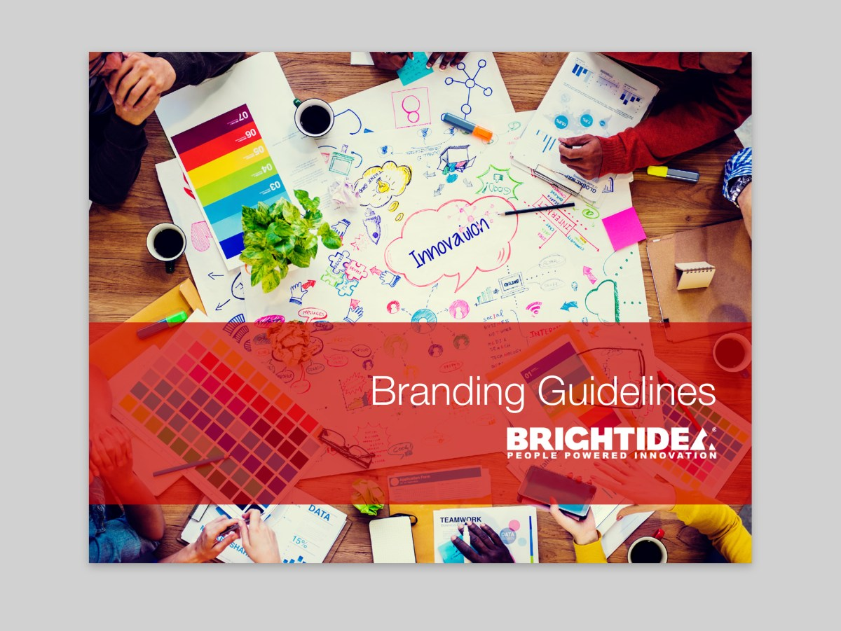 Brightidea Brand Guidelines Cover