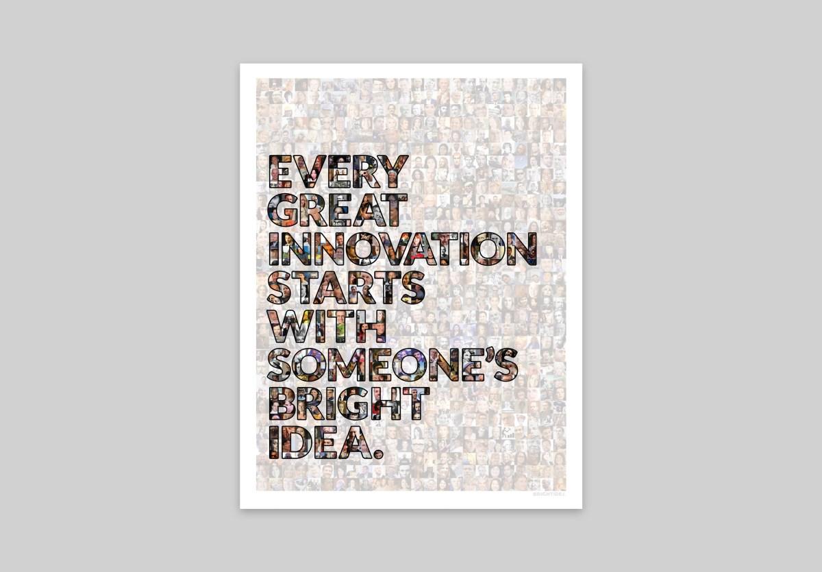 Brightidea Every Idea Poster