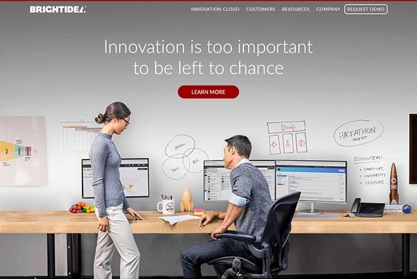 Brightidea Website Thumbnail