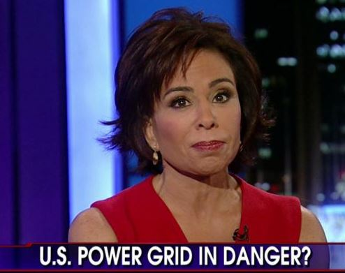 Judge Jeanine Pirro Power Grid Sniper Attack