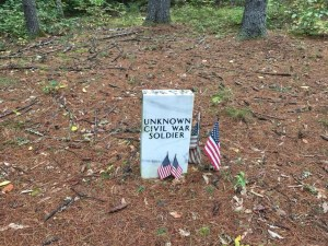 Unknown Civil War Soldier New Hampshire
