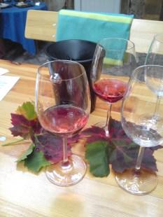 Rotling und Weinlaub