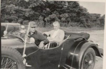 Chas. Addams & Jim Geraghty South Hampton 1947