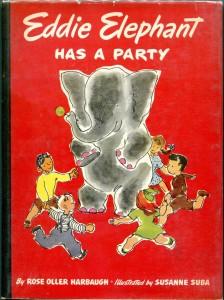 Book-Susanne Suba-Eddie Elephant Has a Party-1947-DJ-b