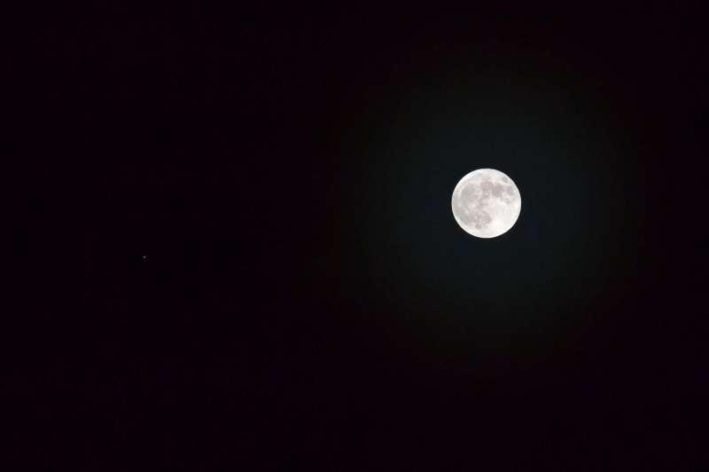 Moon & Jupiter 28th November 2012