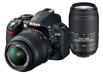 Nikon D3100 with Nikor 18-55mm VR f/3.5 & Nikor 55-300mm VR f/4.5