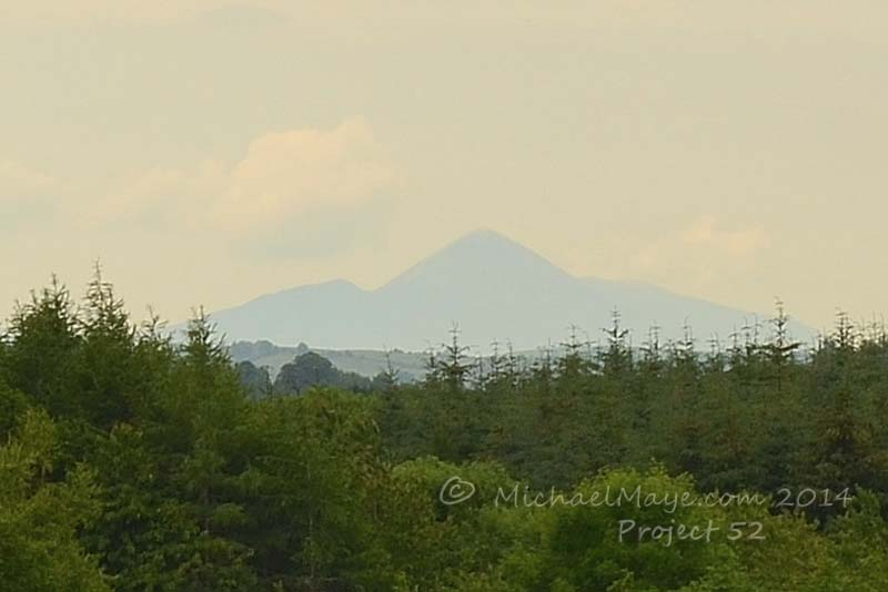 A Hazy Croagh Patrick Project 52 #25