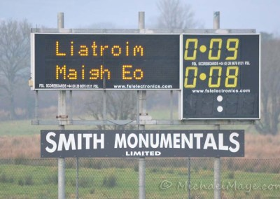 Leitrim v Mayo 13th January 2013