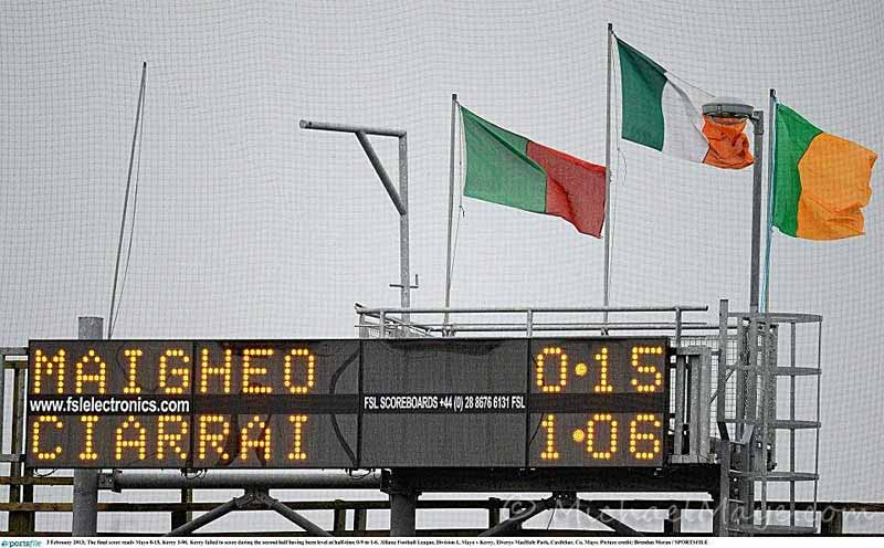 Mayo v Kerry 3rd February 2013