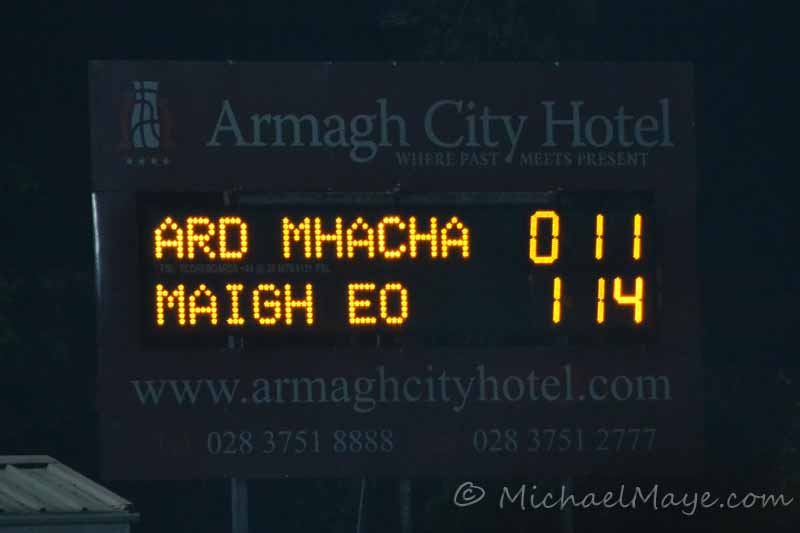 Armagh v Mayo NFL Rd 3 3rd March 2012