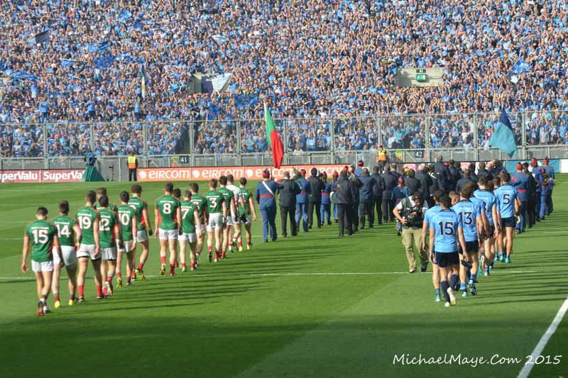 Mayo v Dublin semi final replay 2015