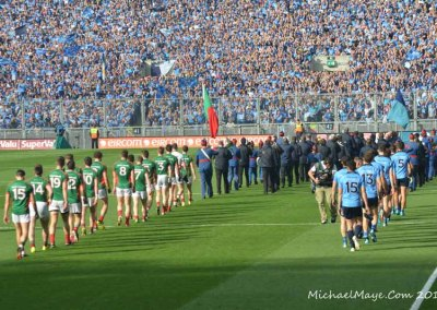 Mayo v Dublin Semi Final Replay 2015